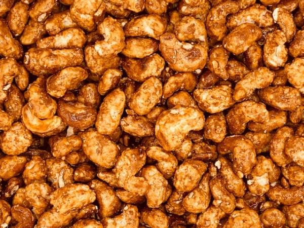 Caramel cashewnoten (stazak)