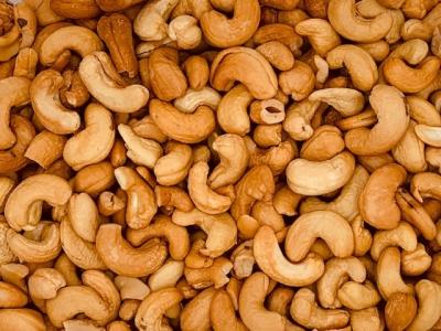 Cashewnoten gebrand en ongezouten