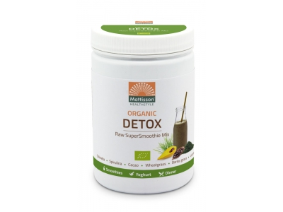 Supersmoothie detox mix biologisch