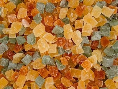 Tropische fruitblokjes mix (stazak)