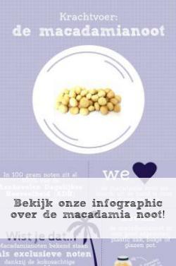 macadamia noot inforgraphic